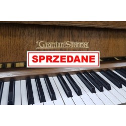 Pianino GROTRIAN STEINWEG + obrotowy taboret
